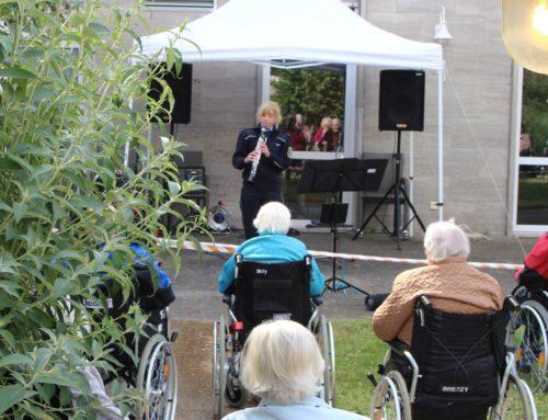 Klarinetten-Konzert im Garten!