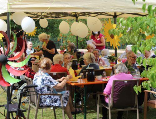 Sommerfeste der Wohnbereiche im HvB Simmern
