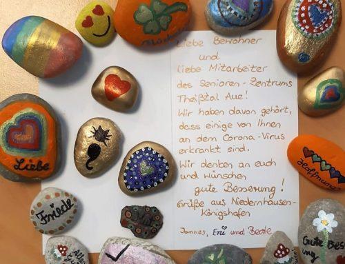 Überraschung für unsere HvB Niedernhausen Bewohner