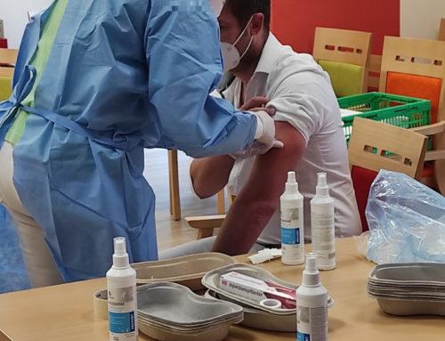 Hildegard-von-Bingen Senioren-Zentrum Wallmerod erhält die zweite Corona-Impfung