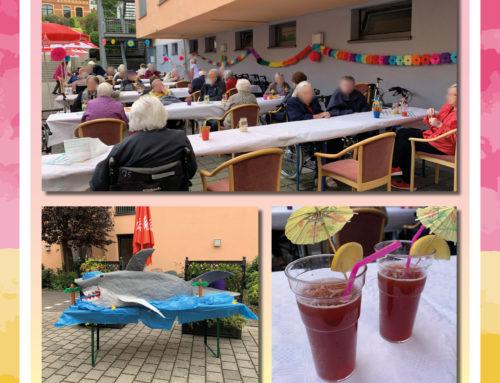 Cocktails für unsere Bewohner vom Senioren-Zentrum Koblenz