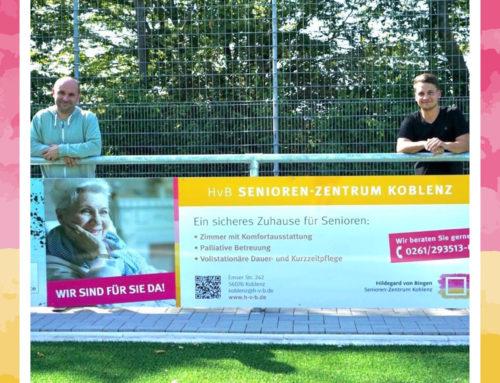 Hildegard von Bingen Senioren-Zentrum Koblenz und der FC Horchheim vertiefen ihre Zusammenarbeit